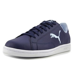 Puma Smash Cat L Jr Youth   Synthetic Blue Fashion Sneakers