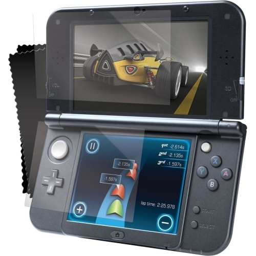 iSound DG3DSXL-2265 i.Sound Screen Protector Pack for Nintendo New 3DS XL Clear - Gaming Console