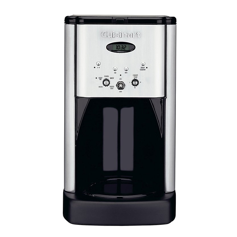 Black//Silver Cuisinart DCC-1200 Brew Central 12 Cup Programmable Coffeemaker