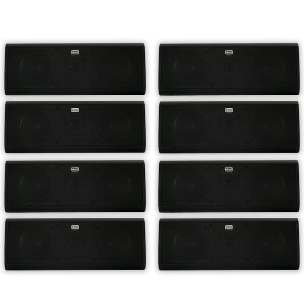 Acoustic Audio AA40CB Indoor 3 Way Speakers 4000W Black 4 Pair Pack AA40CB-4PR