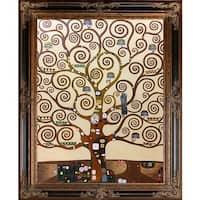 Gustav Klimt 'Tree of Life' (Luxury Line) Hand Painted Oil Reproduction
