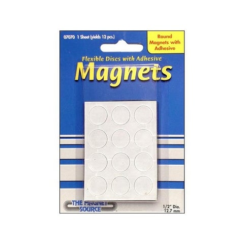 the magnet source magnet disc 5 x1 16 adh 12pc free shipping on