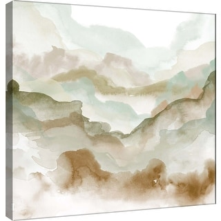"""PTM Images 9-100486  PTM Canvas Collection 12"""" x 12"""" - """"Layers of Autumn B"""" Giclee Mountains Art Print on Canvas"""