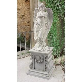 MONTEVERDE ANGEL STATUE DESIGN TOSCANO religious Christian angels child angel