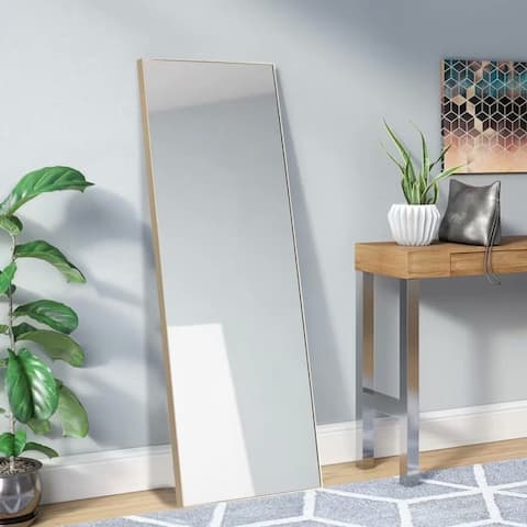 Large Full-length Floor Mirror with Stand - 21.26x64.17