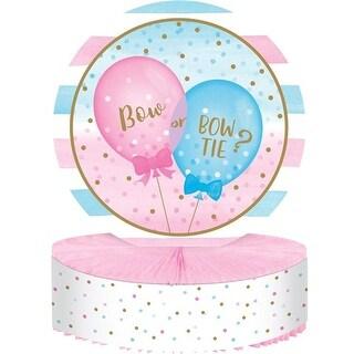 Creative Converting 336685 Gender Reveal Balloons Centerpiece