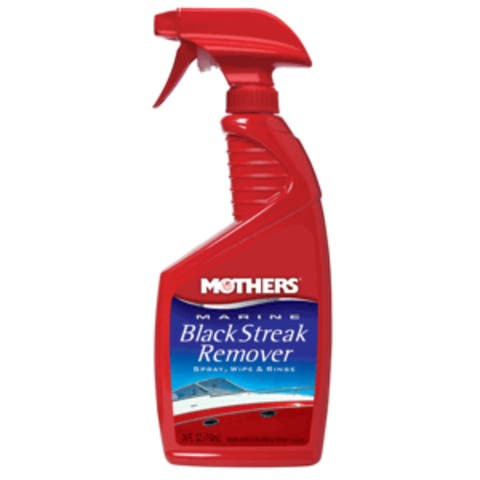 "10"" Red and Blue Marine Black Streak Remover - 24oz."