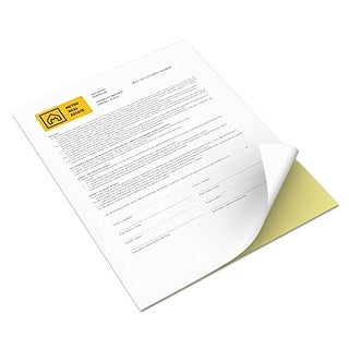 Xerox Revolution Digital Carbonless Paper, White-Canary Revolution Digital Carbonless Paper, White/Canary
