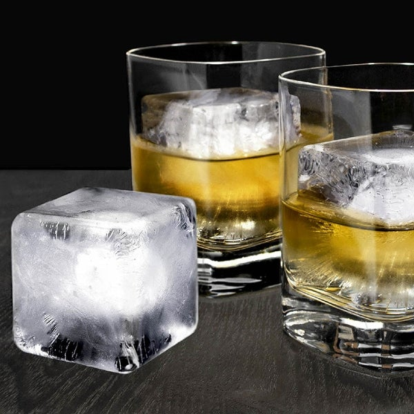 Glacier Ice Cube Molds, Set of 2. Opens flyout.
