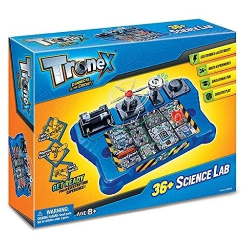 Tronex 36 Experiments Electronics Science Lab