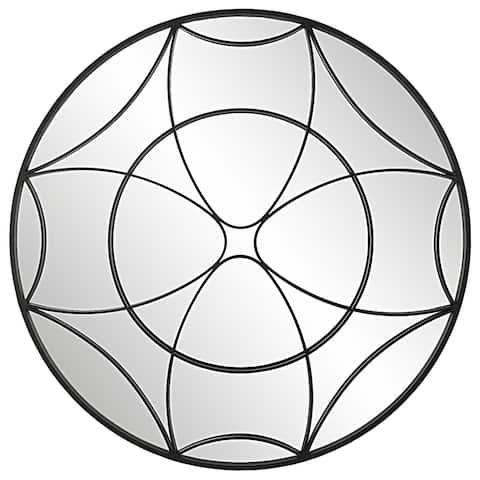 Uttermost Jocasta Mirrored Circular Wall Decor - 48 x 48 x 2