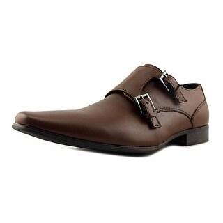 Calvin Klein Bayard Round Toe Leather Loafer