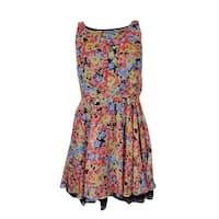 Betsey Johnson Women's Floral Blouson Dress - Multi