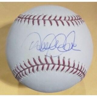 Derek Jeter Autographed New York Yankees OML Baseballl Steiner