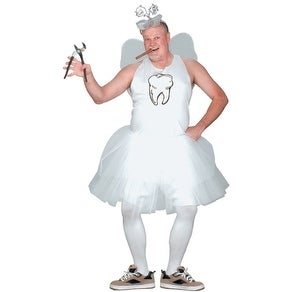 Tooth Fairy Men's Plus Size Adult Halloween Costume - big & tall