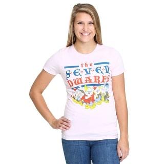 Womens Snow White Vintage Seven Dwarfs T-Shirt