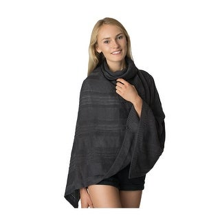Womens Cowl Neck Sweater Poncho