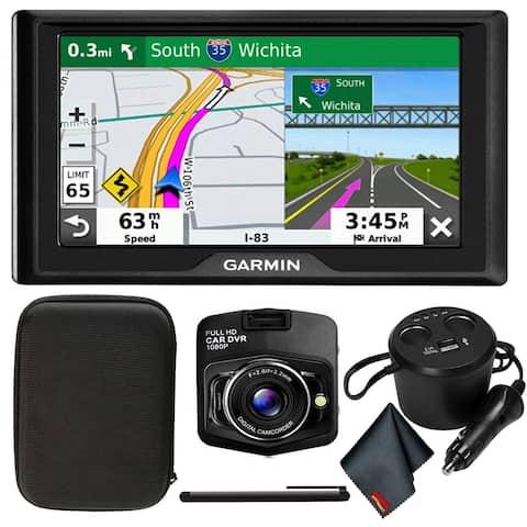 "Garmin Drive 52 5"" GPS Navigator (US & Canada) with Driver Alerts, DashCam + More"
