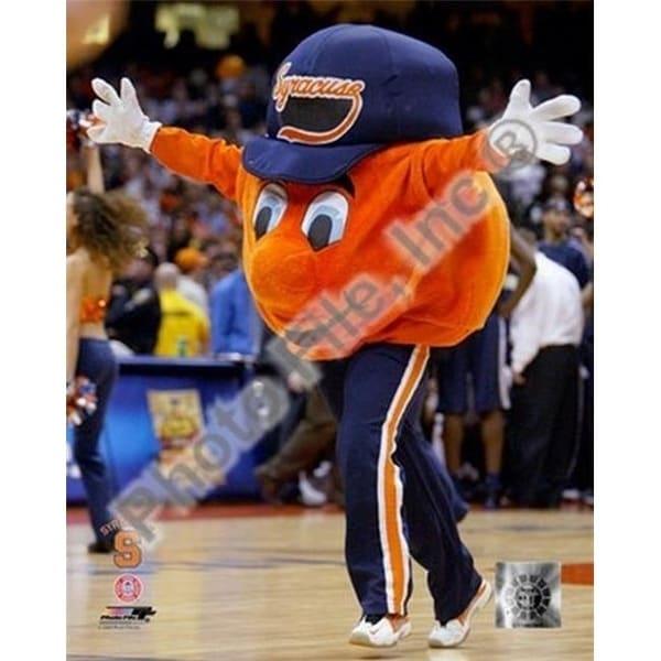 Shop Photofile Otto The Syracuse Orangemen Mascot 2004 Sports Photo