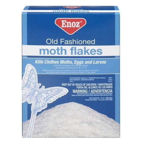 Enoz E10-12 Old Fashion Moth Flakes, 14 Oz