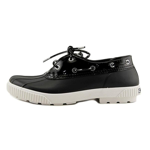 MICHAEL Michael Kors Womens HYDE Rubber Closed Toe Boat Shoes
