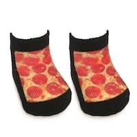 Pizza Baby Socks 0-6 Month - Multi