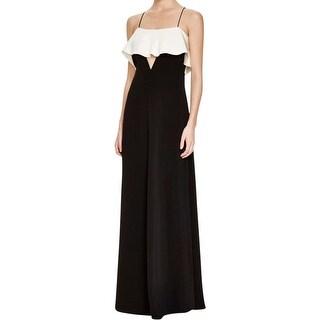 JILL Jill Stuart Womens Evening Dress Two Tone Full-Length