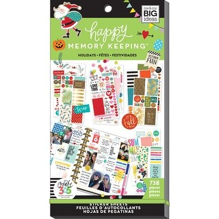 Create 365 Happy Planner Sticker Value Pack-Seasons & Holidays, 738/Pkg