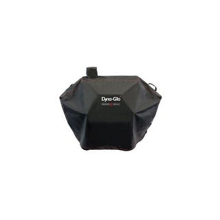"""Dyna-Glo DG576CC 62"""" Wide Charcoal Grill Cover - Black"""
