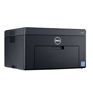 Dell - C1760nw - Laser Printer - Color - Laser - Up To 15 Ppm Mono / Up To 12 Ppm Color