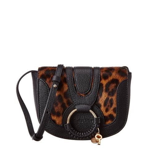 See By Chloe Hana Haircalf & Leather Shoulder Bag