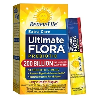 Renew Life Ultimate Flora Extra Care Probiotic 200 billion - 7 Packets
