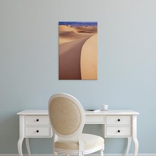 Easy Art Prints Brian Jannsen's 'Mesquite Dunes At Stovepipe Wells' Premium Canvas Art