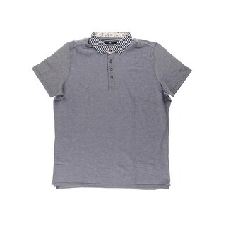 Stone Rose Mens Oxford Contrast Collar Polo Shirt