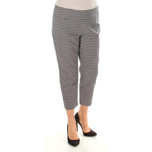 4b5b3fc9 Shop Womens Black White Striped Wear To Work Capri Pants Size 14 ...