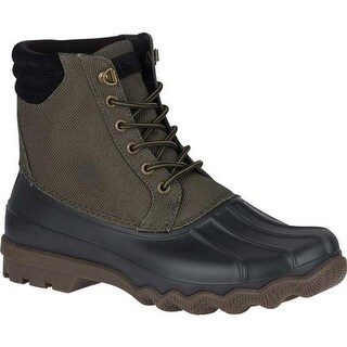 Sperry Top-Sider Men's Avenue Duck Boot Olive Synthetic