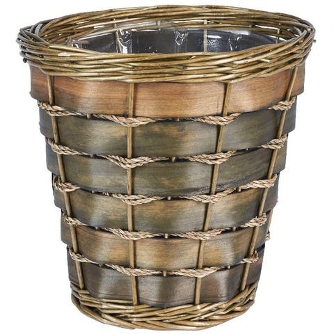Small Haven Willow and Poplar Waste Basket