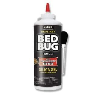 Harris BLKBB-P4 Resistant Bed Bug Killer, Silica Gel Powder, 4 Oz https://ak1.ostkcdn.com/images/products/is/images/direct/ecfc49e3da4d0fb120997a6c8def1a84bf9bd16a/Harris-BLKBB-P4-Resistant-Bed-Bug-Killer%2C-Silica-Gel-Powder%2C-4-Oz.jpg?impolicy=medium