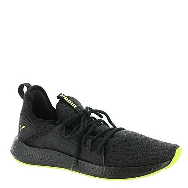 1f842d9cf679 Shop Puma Men s Nrgy Neko Knit Puma Black Asphalt Limepunch 11 D Us - Free  Shipping Today - Overstock - 25670698