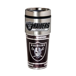 Oakland Raiders 360 Wrap Tumbler