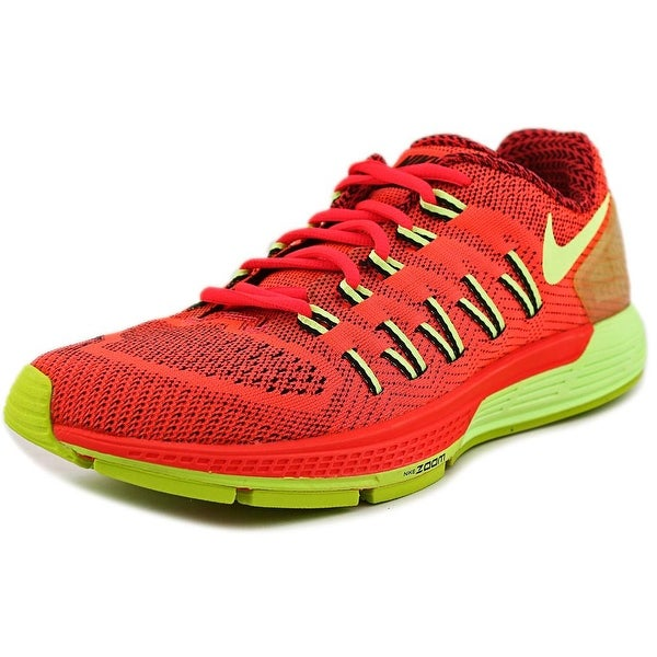 Nike Air Zoom Odyssey Men Round Toe Synthetic Orange Running Shoe