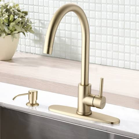 Modern Bar Sink Faucet -Gimili Bar faucet for Kitchen Sink Gold Finish