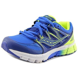 Saucony Zealot Round Toe Synthetic Running Shoe