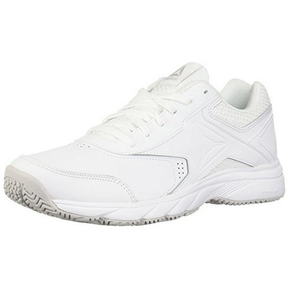 Reebok Mens Work N Cushion 3.0, White/Steel