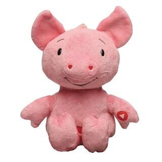 "Rockin' Cu-pig - Electric Singing Plush Stuffed Animal - 10"" High Cupid Pig"