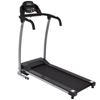 Gymax Folding Electric Treadmill Running Fitness Machine 800W - Black