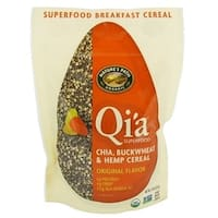 Nature's Path Organic Qi'A Superfood Chia Buckwheat and Hemp Cereal - Original - Case of 10 - 7.9 oz.