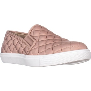 Steve Madden Ecntrcqt Slip-on Fashion Sneakers, Blush