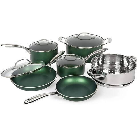 Granitestone Emerald Non Stick 10pc Cookware Set