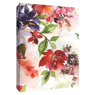 """PTM Images 9-148463  PTM Canvas Collection 10"""" x 8"""" - """"Early Spring I"""" Giclee Flowers Art Print on Canvas"""